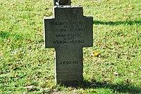 2017-09-28 GuentherZ Wien11 Zentralfriedhof Gruppe97 Soldatenfriedhof Wien (Zweiter Weltkrieg) (032).jpg