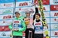 2017-10-03 FIS SGP 2017 Klingenthal Siegerehrung Gesamt-GP2017 Lanišek-Kubacki-Kobayashi 2.jpg