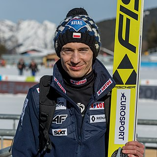 Kamil Stoch Polish ski jumper