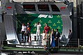 2019 Formula 1 Hungarian GP podium.jpg