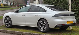 2019 Peugeot 508 GT-Line BlueHDi 1.5 (130 PS) Rear.jpg
