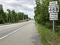 2020-05-21 14 28 44 View east along Maryland State Route 488 (La Plata Road) between Grant Chapman Drive and Kerrick Drive in Waldorf, Charles County, Maryland.jpg