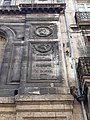 2020-09-19 Inscriptions sur la façade du 9 rue Castelnau d'Auros (Bordeaux) 03.jpg