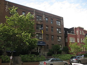 George Washington University residence halls - Image: 2109 F Street GWU