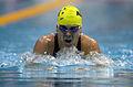 211000 - Swimming 200m medley SM10 Justin Eveson action 2 - 3b - 2000 Sydney event photo.jpg