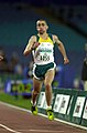 231000 - Athletics track 200m T38 final Tim Sullivan gold action 2 - 3b - 2000 Sydney race photo.jpg