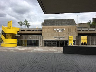 Queen Elizabeth Hall - Exterior view of venue (c.2018)