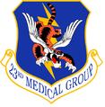 23 Medical Gp emblem.png