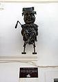 24 El capgròs Mastegamosques, a la façana de l'Ajuntament Vell de Calella.JPG