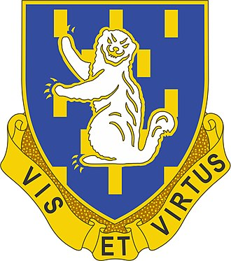 85th Infantry Division (United States) - Image: 337th Infantry Regiment Distinctive Unit Insignia