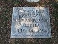 400th Anniversary Marker, Manteo, Roanoke Island, North Carolina (14273900319).jpg