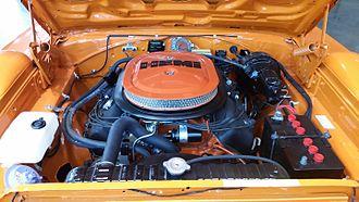 Plymouth Superbird - 426 Hemi V8 engine on a 1970 Plymouth Superbird