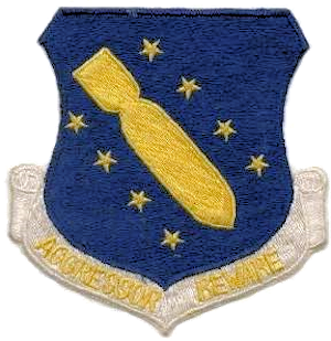 44th Bombardment Wing - SAC - Patch