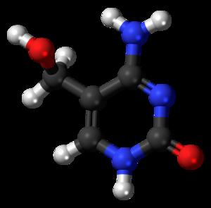 5-Hydroxymethylcytosine - Image: 5 Hydroxymethylcytosin e 3D balls