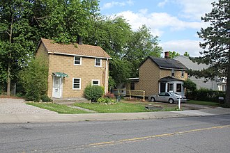 Rossville, Staten Island - Image: 565 and 569 Bloomingdale Road Cottages Sandy Ground Staten Island