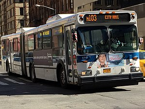 MTA Regional Bus Operations bus fleet - Image: 5717 M103