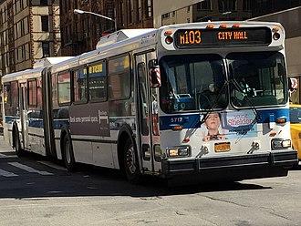 MTA Regional Bus Operations bus fleet - Image: 5717 M103