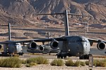 57th Weapons Squadron - C-17s Nellis 2010.jpg