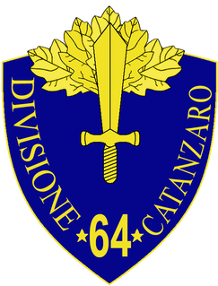 64th Infantry Division Catanzaro