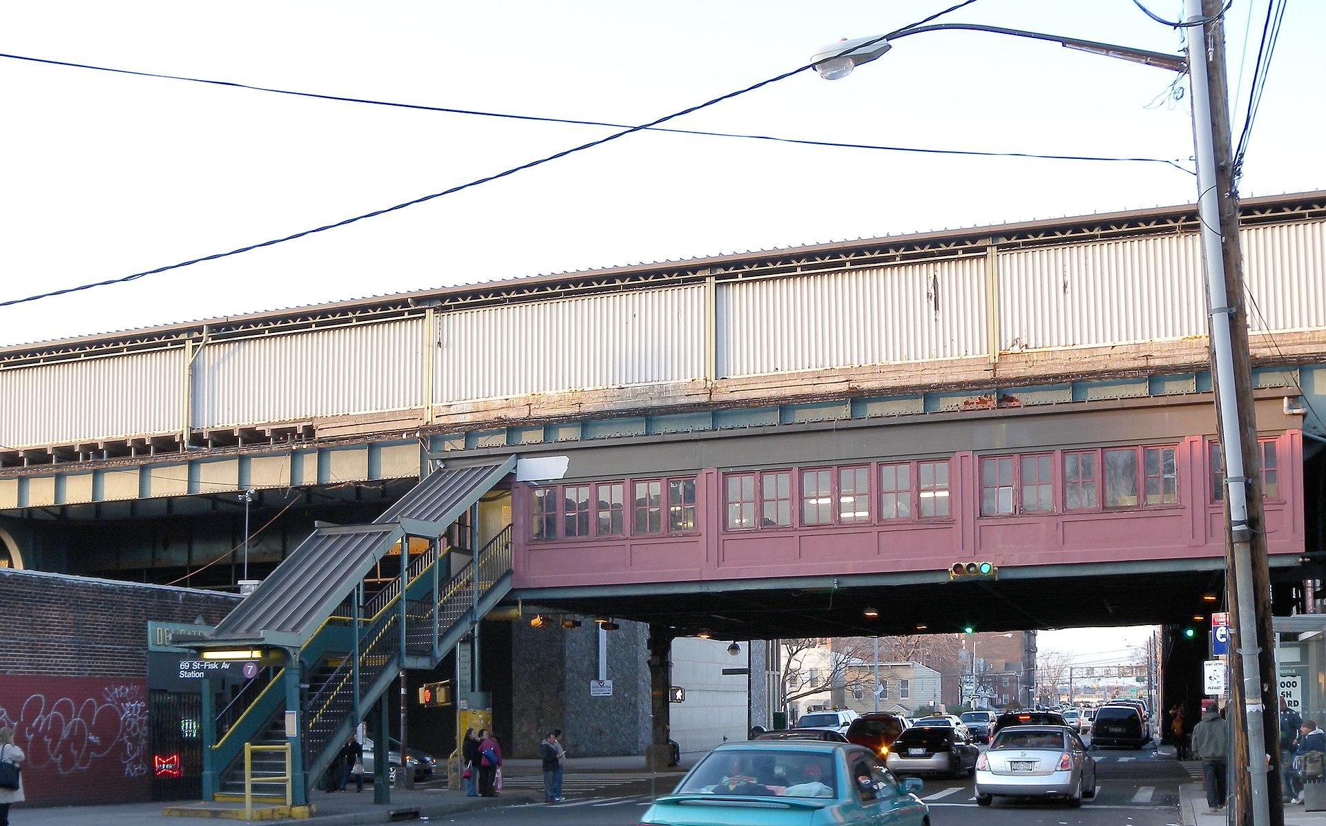 City Line Avenue >> 69th Street (IRT Flushing Line) - Wikipedia