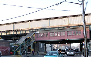 69th Street (IRT Flushing Line) - South side