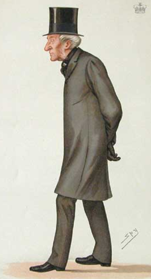 Algernon Percy, 6th Duke of Northumberland - The Duke of Northumberland by Leslie Ward, 1884.
