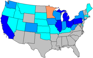 United States House of Representatives elections, 1932 - Image: 73 us house changes