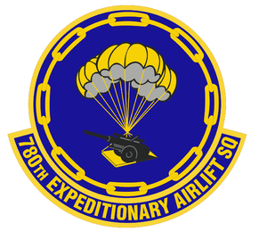 780th Expeditionary Airlift Squadron - Image: 780 Expeditionary Airlift Sq emblem