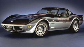 Indianapolis 500 pace cars - 1978 Chevrolet Corvette 25th Anniversary Edition pace car