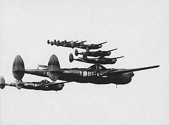 97th Flying Training Squadron - P-38 Lightnings of the 82nd Fighter Group over Italy, 1944