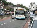 99 bus to Telford on Tontine Hill - geograph.org.uk - 1463241.jpg