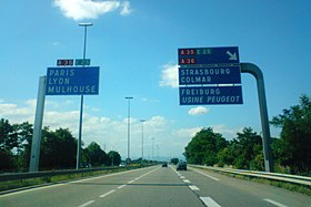 Image illustrative de l'article Autoroute A35 (France)