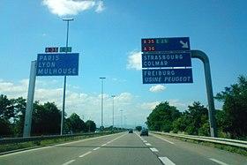 A35 autoroute #