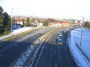 A38 Rubery by-Pass from Whettybridge Road brid...
