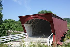 List Of Covered Bridges In Madison County Iowa Wikipedia