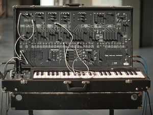 "Pop (U2 album) - Lead single ""Discothèque"" features a distorted acoustic guitar processed through an ARP 2600 synthesizer."