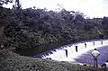 ASC Leiden - F. van der Kraaij Collection - 13 - 027 - The Firestone rubber plantation. A dam for hydro energy with an American manager and a Liberian worker - Harbel, Montserrado county, Liberia - 1976.jpg