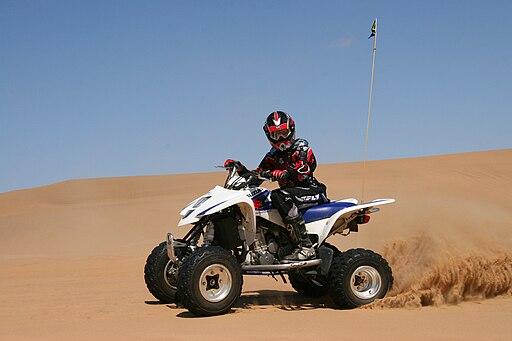 ATV Dune Manoeuvre
