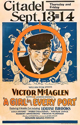 Howard Hawks - A Girl in Every Port poster
