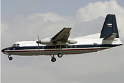 A IRIAF Fokker F27 flying.jpg