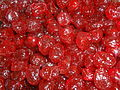 A cherry is the fruit of many plants of the genus Prunus.JPG