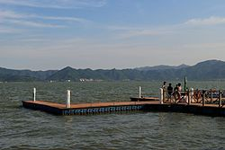 A dock besides Dongqian Lake.jpg