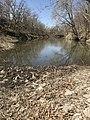 A dry creek section at Rock Creek Crossing in Council Grove, KS (48b7c7f6373f4a63aeaf11715f4f3fb1).JPG