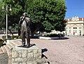 A monument to Šaban Bajramović in Niš.jpg