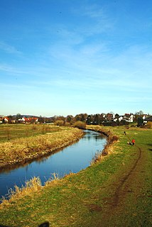 Aa (Werre) River in Germany