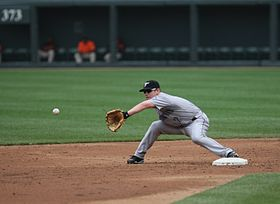 Aaron Hill receives a throw.jpg