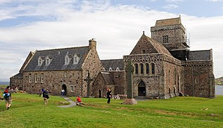 Iona Abbey abbey in Argyll and Bute, Scotland, UK
