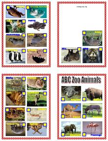 Image Result For Abc Zoo Animals