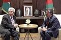 Abdullah II welcomes Mahmud Abbas 14.jpg