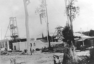 Kitchener, New South Wales - Photograph of the Aberdare Central Colliery, Kitchener